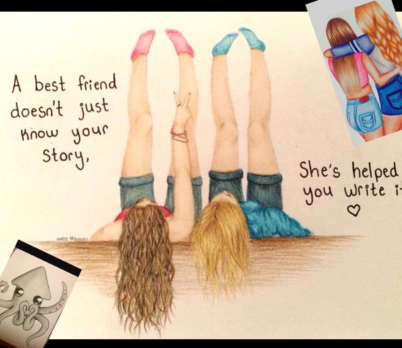 Pin By Haley On Drawings Pinterest Bff Drawings And