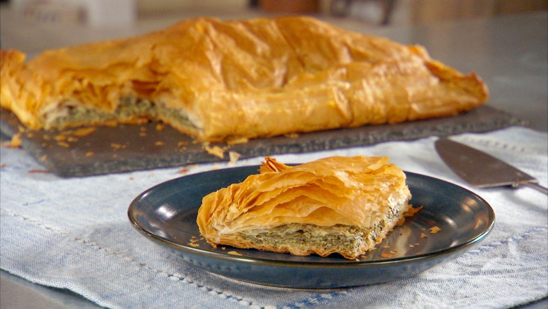 Spinach Pie (Byrek Mi Spinaq) Recipe Spinach pie