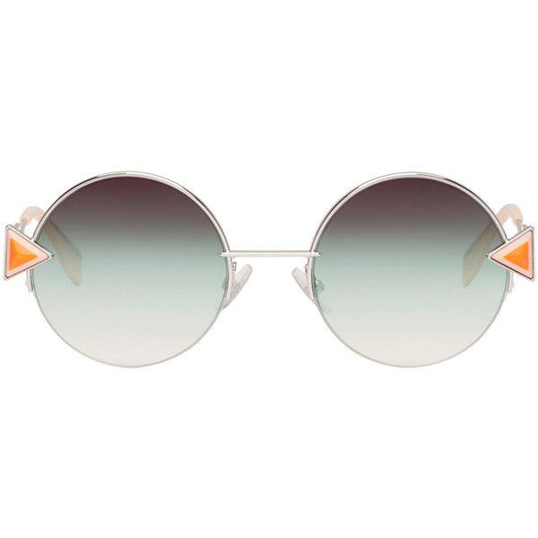642df91a08b9 Fendi Silver Rainbow Sunglasses (35