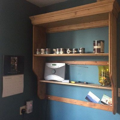 Dresser Top Wall Mounted Shelving