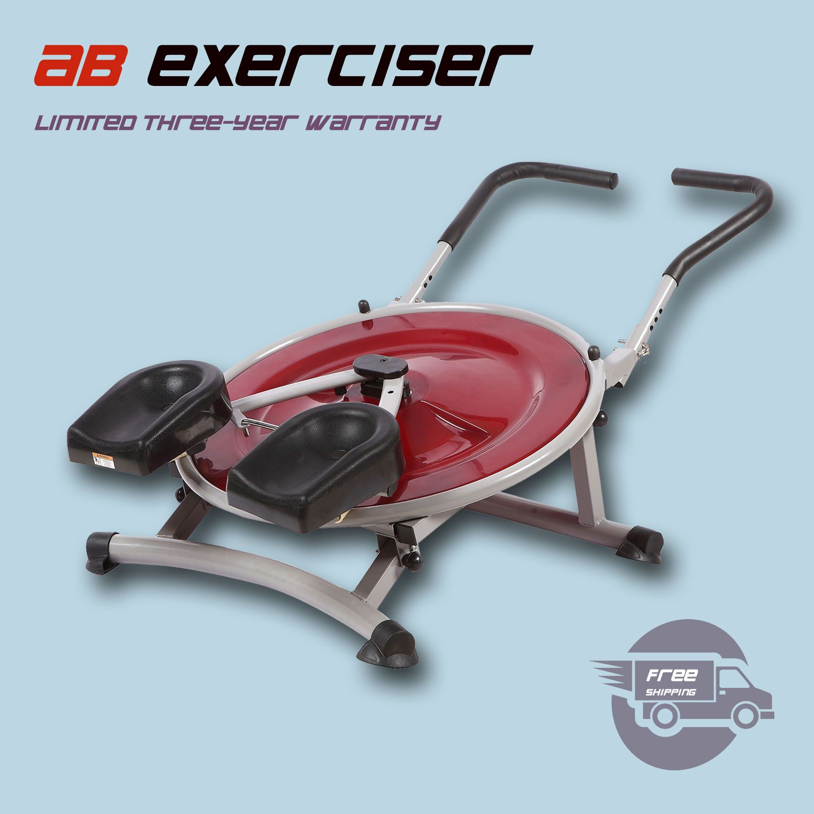 AB Circle Pro Abs Exercise Machine Workout Equipment Abdominal Fitness Home Gym #abexercisemachine