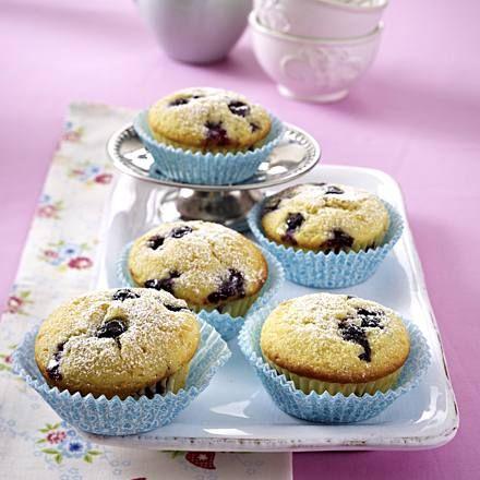 Heidelbeer-Buttermilch-Muffins Rezept | LECKER #apfelmuffinsrezepte