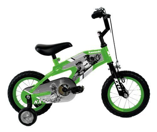 Boys Kawasaki Kx12 Bicycle W Training Wheels Plus Red Black Frame By Kawasaki 101 42 Younger Boys Can Learn To Ride This Kids Bicycle Boy Bike Kids Bike