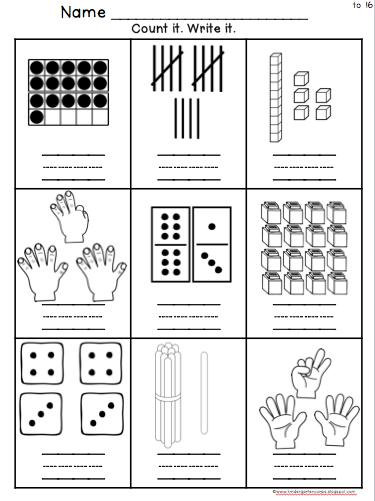 Pin On Math For Kindergarten