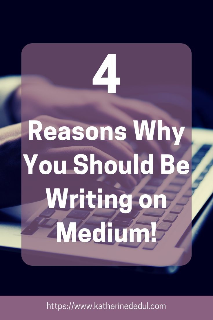 how to be a medium writer