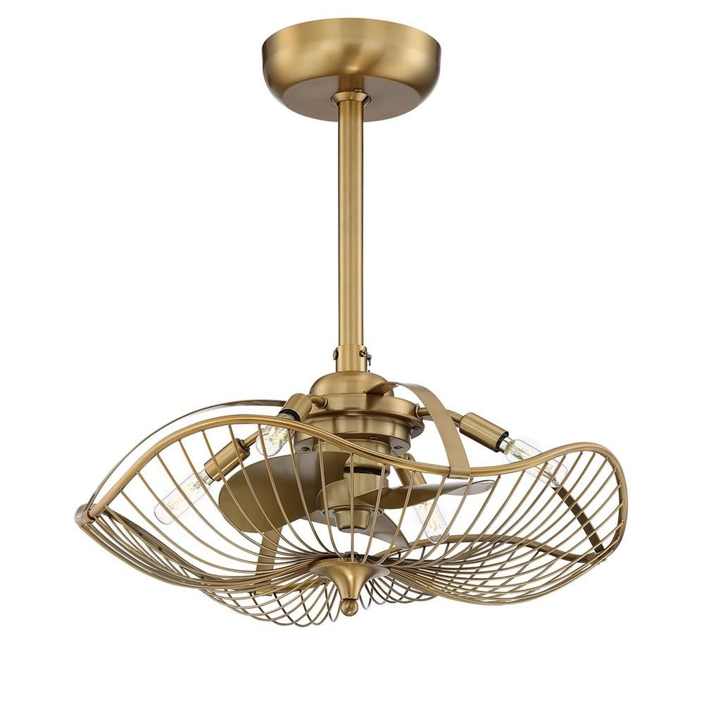 Fifth And Main Lighting Auri 22 25 In Indoor Aged Brass