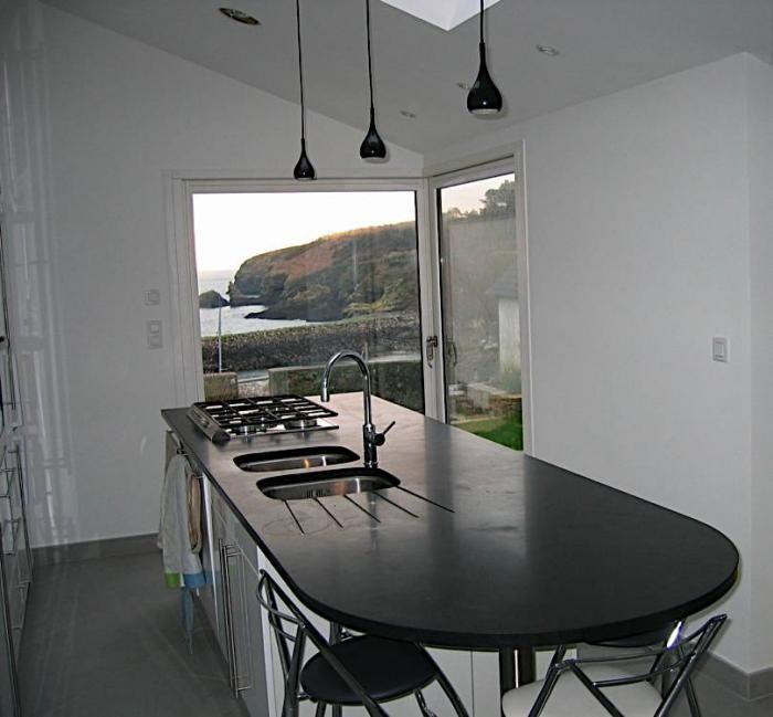 charmant plan de cuisine moderne avec ilot central 1 ilot central