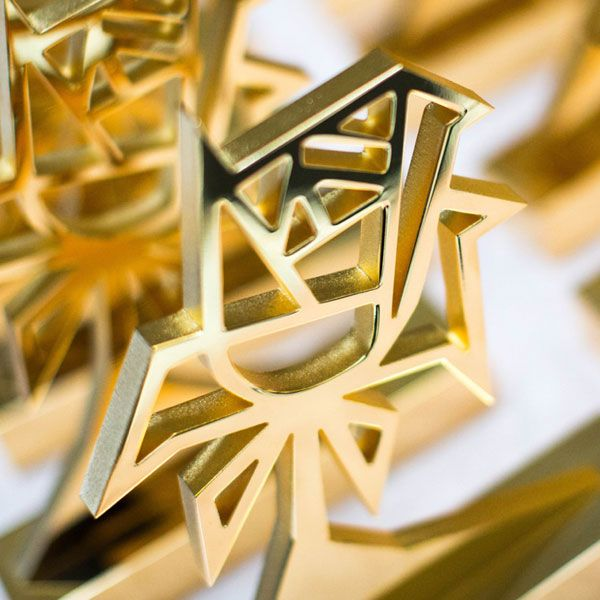 EFX Are The UK Leading Manufacturer And Supplier Of Custom Bespoke Gold Trophy Awards