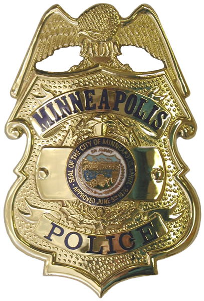 Minneapolis Pd Wi 2 Police Badge Police Fire Badge