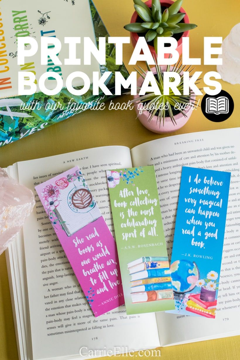 Printable Book Lover Quotes Bookmarks Booklovers Books Bookmarks Printables Printable Books Quotes For Book Lovers Book Lovers