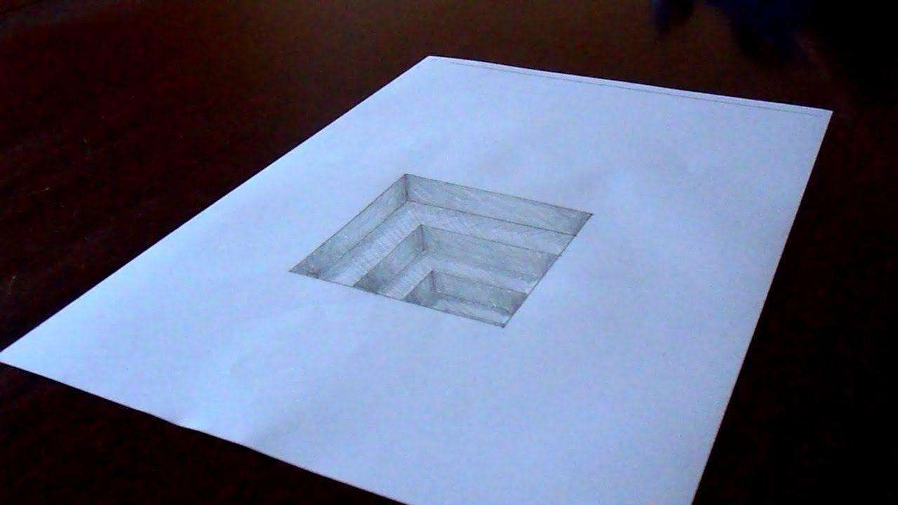 Объемные картинки на бумаге карандашом для начинающих, картинки