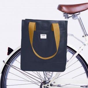 Linus Linden Tasche Blau Fahrradtasche Fahrrad Design Taschen