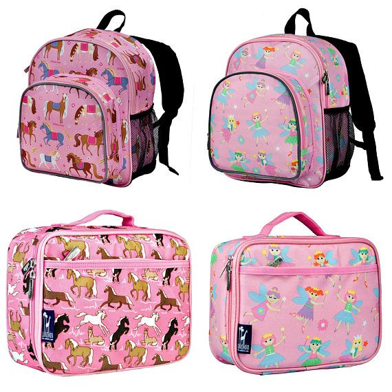 3ad040e2dac5 Personalized Backpack and Lunch Box Sets Horse Backpack