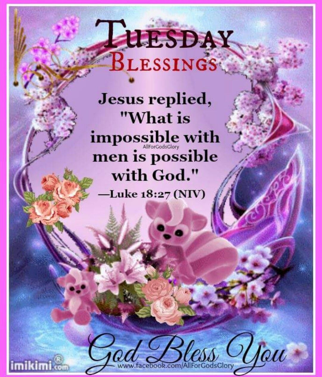 Good Morning Sister And Yours Wish You A Lovely Tuesday God Bless