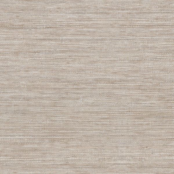 Tapis Light Grey Faux Grasscloth Wallpaper from the Beyond Basics Collection by Brewster Home Fashions