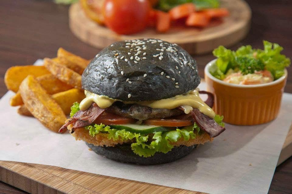 5 Burger Paling Aneh Di Jakarta Resep Burger Resep Roti Burger