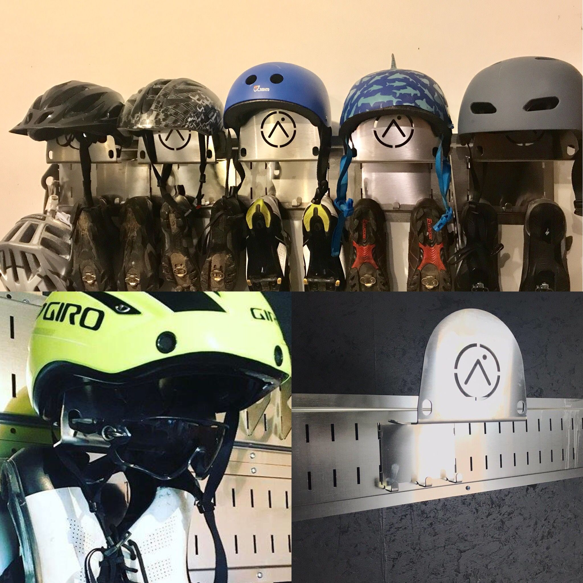 Kit Keeper Bike Storage Systems Bike Helmet Storage Helmet Storage
