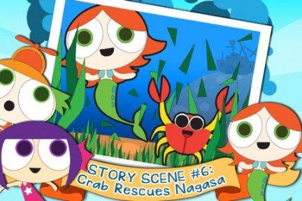 Mermaid Waters App currently free Preschool math games