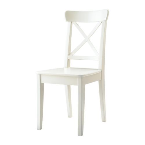 INGOLF Silla IKEA La madera maciza es un material natural muy ...