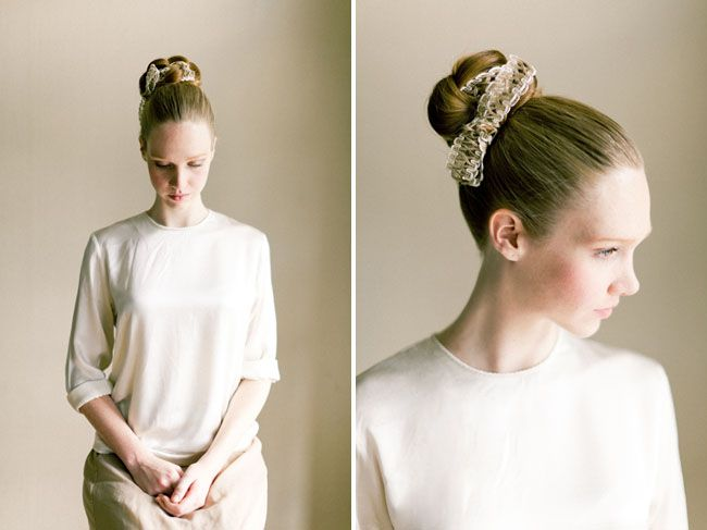Fabric Bun Hair Tutorial