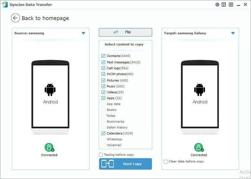 transfer old Samsung data to Samsung Galaxy Note 9 | Samsung Galaxy