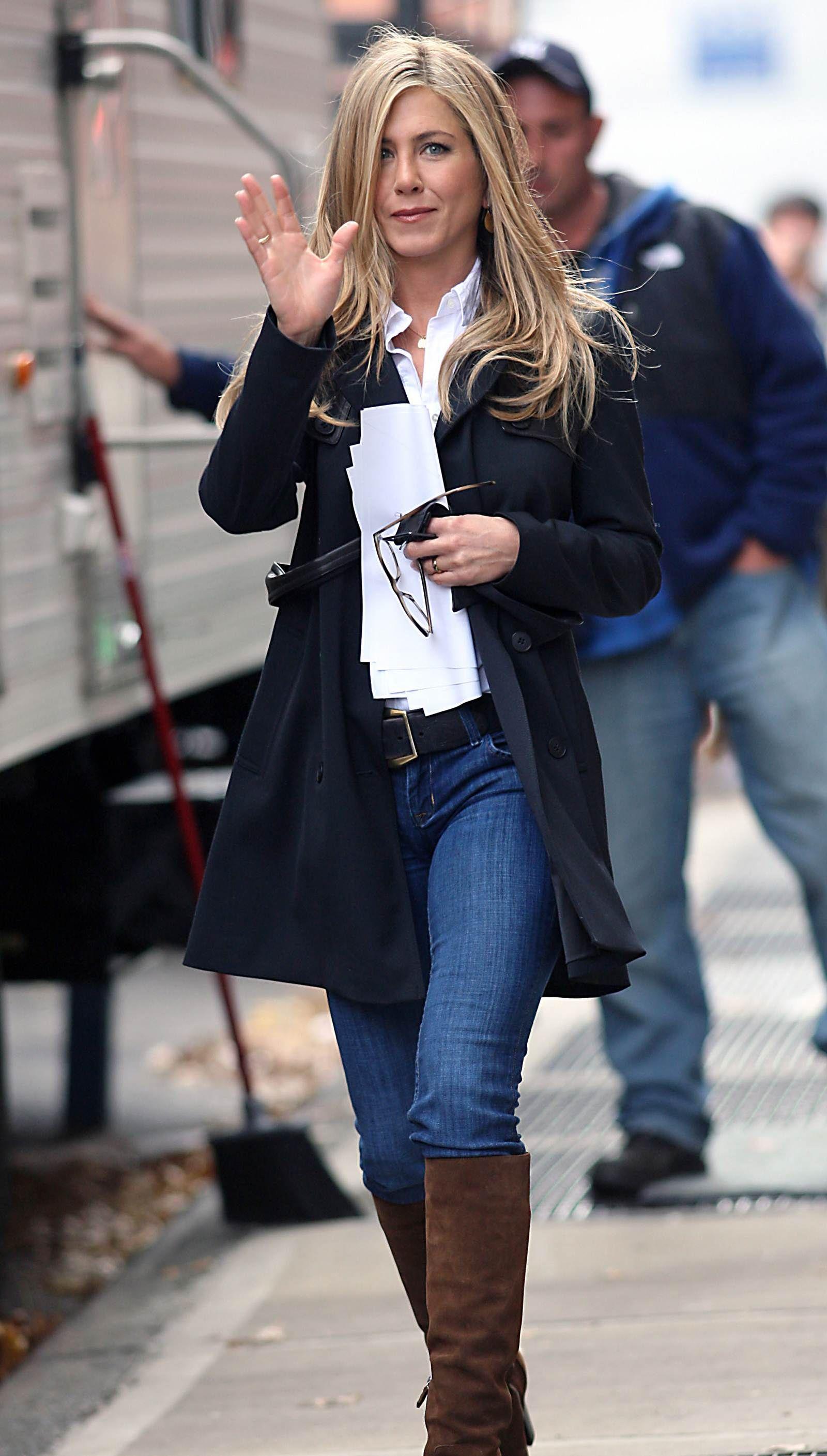 jennifer aniston casual | Fashion | Jennifer aniston style ...