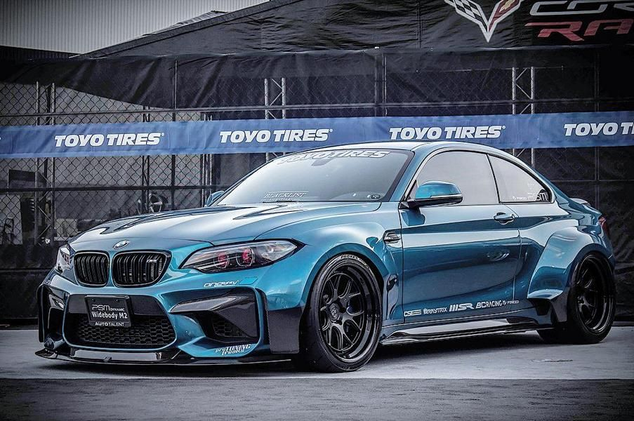 psm dynamic bmw m2 f87 carbon widebody tuning 2 photo. Black Bedroom Furniture Sets. Home Design Ideas