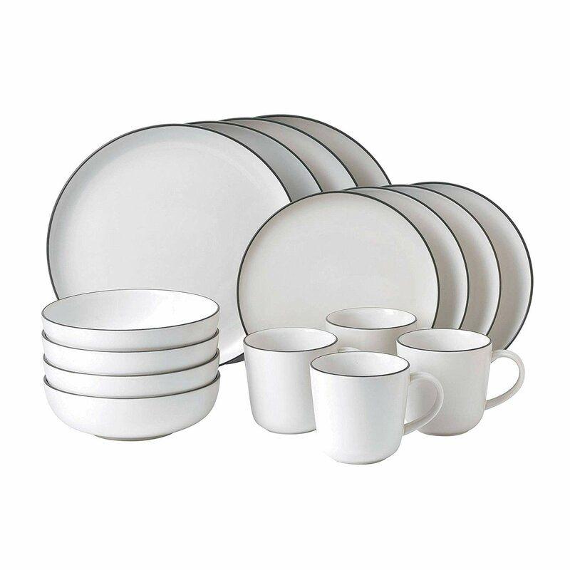 Bread Street 16 Piece Dinnerware Set, Service for 4