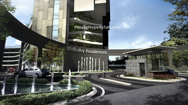 Wellesley Residences The Fourth Phase Of Harbour Place Township In Butterworth A Total Of 401 New Units Will Be Built In A 27 Pintu Masuk Arsitektur Bangunan