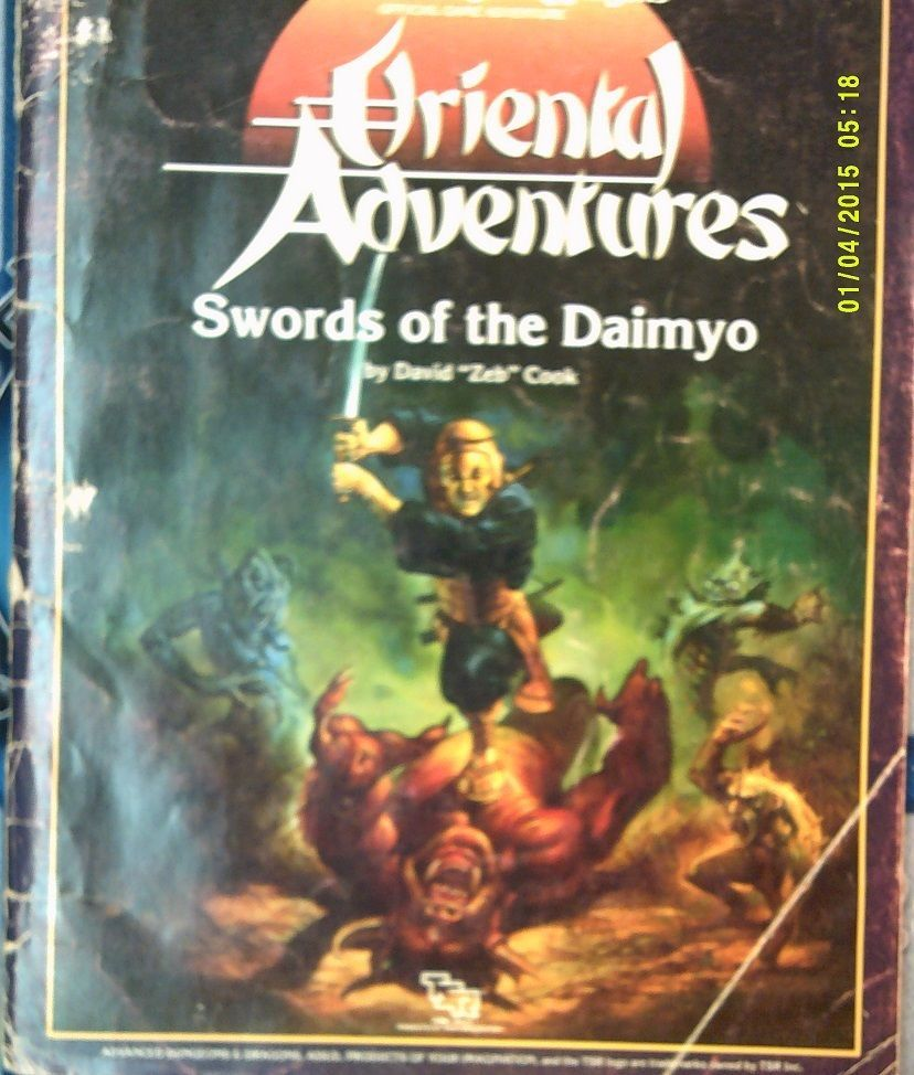 ADnD 2nd ed Greyhawk adventures: five shall be one #TSR