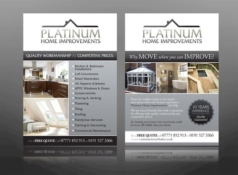 Free Home Improvement Flyer Templates Home Repair Home Improvement Grants Home Improvement