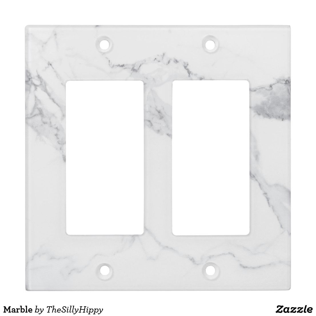 Marble Light Switch Cover Zazzle Com Light Switch Covers Switch Plate Covers Marble Decor