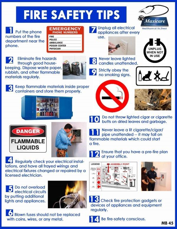 14 Fire safety tips Fire safety tips, Home safety, Home