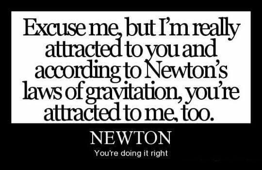 Pin by sudha dhanaraj on giggles pinterest explore newtons laws nerdy pick up lines and more urtaz Image collections