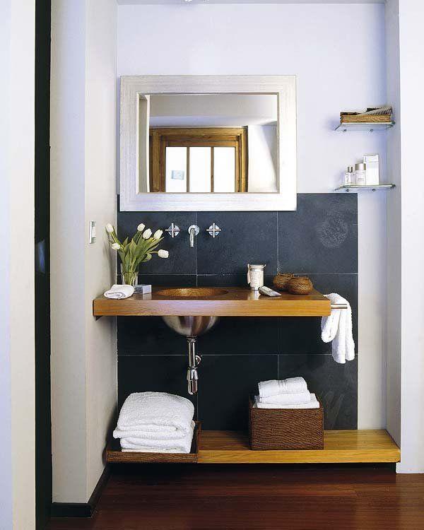 Distribuir El Bano.Como Distribuir Un Bano Pequeno 12 Ejemplos Bathrooms 2