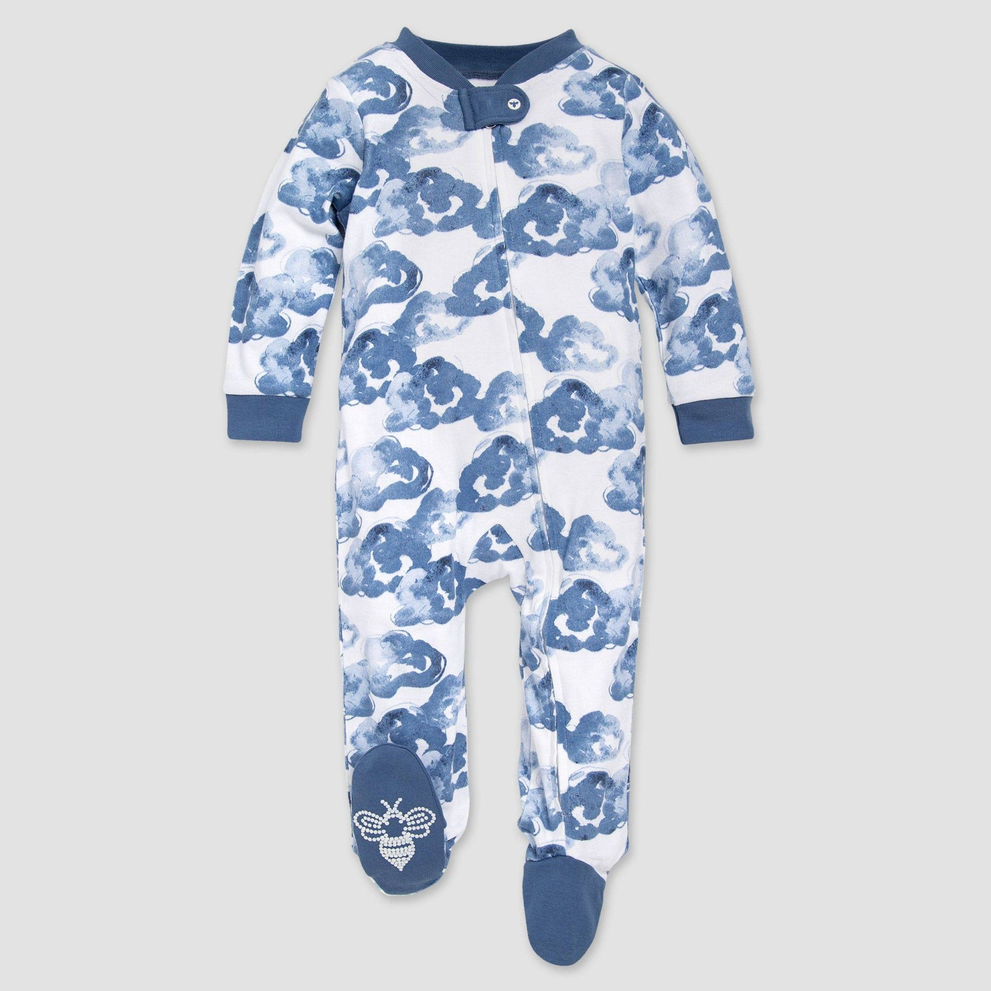 Essentials Toddler and Baby Zip-Front Footed Sleeper