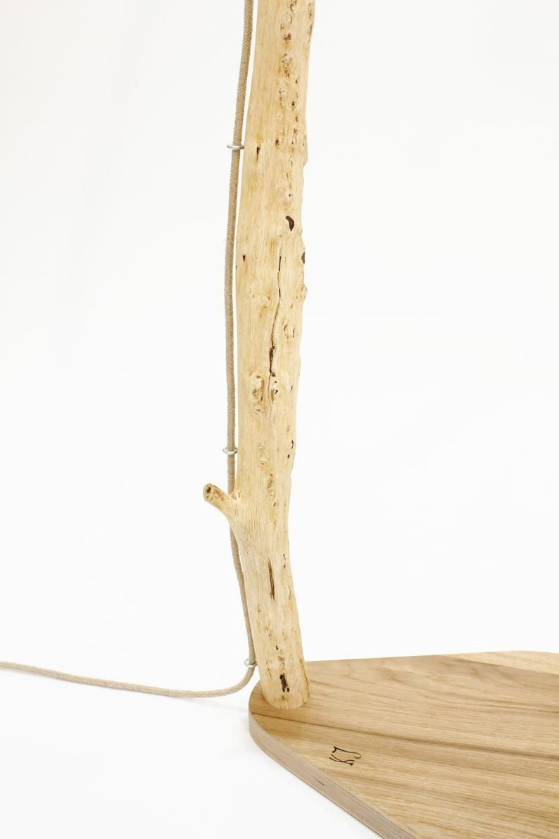 Floor Lamp From An Old Oak Branch Xxiii Lamp Above The Table Arc Lamp Eco Lamp Nature Design In 2020 Coat Rack Home Decor Decor