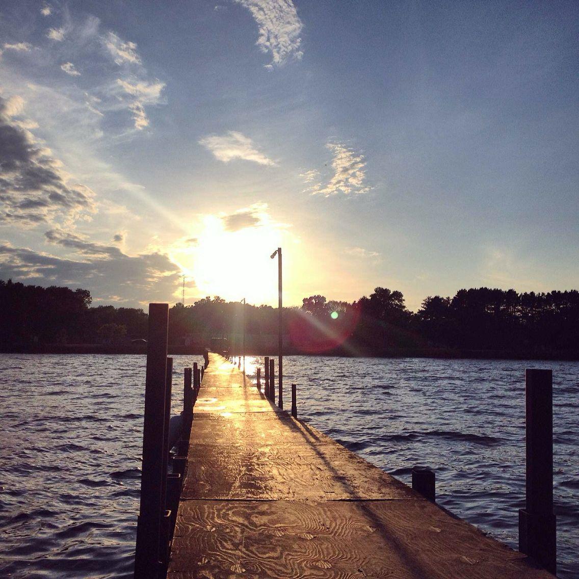 MilleLacs Lake. Garrison, MN. August 8, 2014.