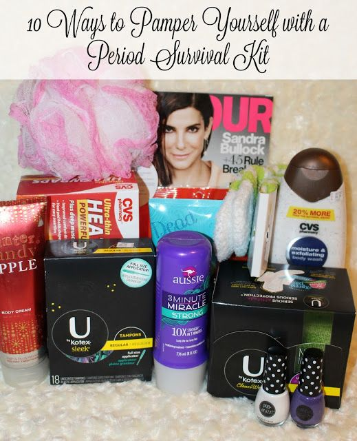 10 ways to pamper yourself with a period survival kit to keep you 10 ways to pamper yourself with a period survival kit to keep you feeling like you solutioingenieria Gallery