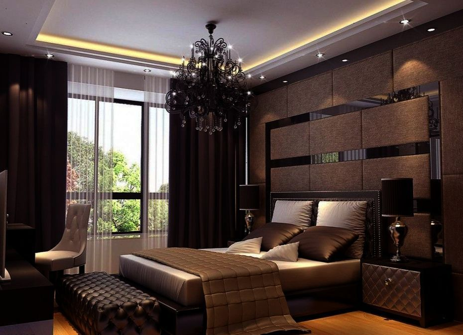 Bedroom Residence Du Commerce Elegant Bedroom Interior 3D ...