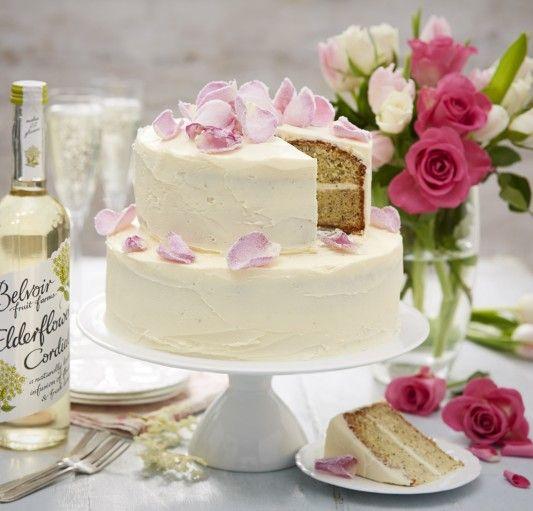 Lemon Elderflower Cake Copycat Royal Wedding Cake: Elderflower, Lemon & Poppy Seed Layered Cake By Lisa