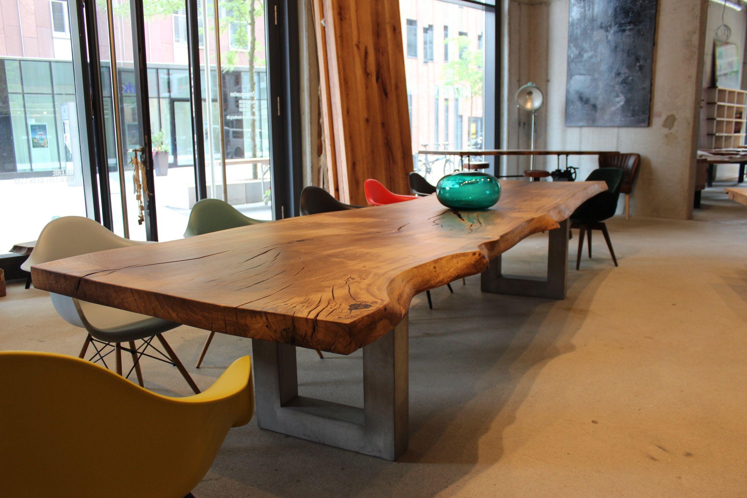 Baumtisch Eichentisch Esstisch Tisch Holztisch Table
