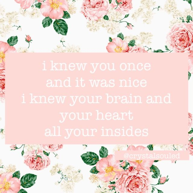 I Knew You Once Crystalsouled On Pinterest Dodie Clark Brain