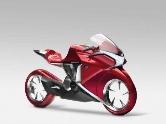 Honda V4 concept bike has us scratching our heads