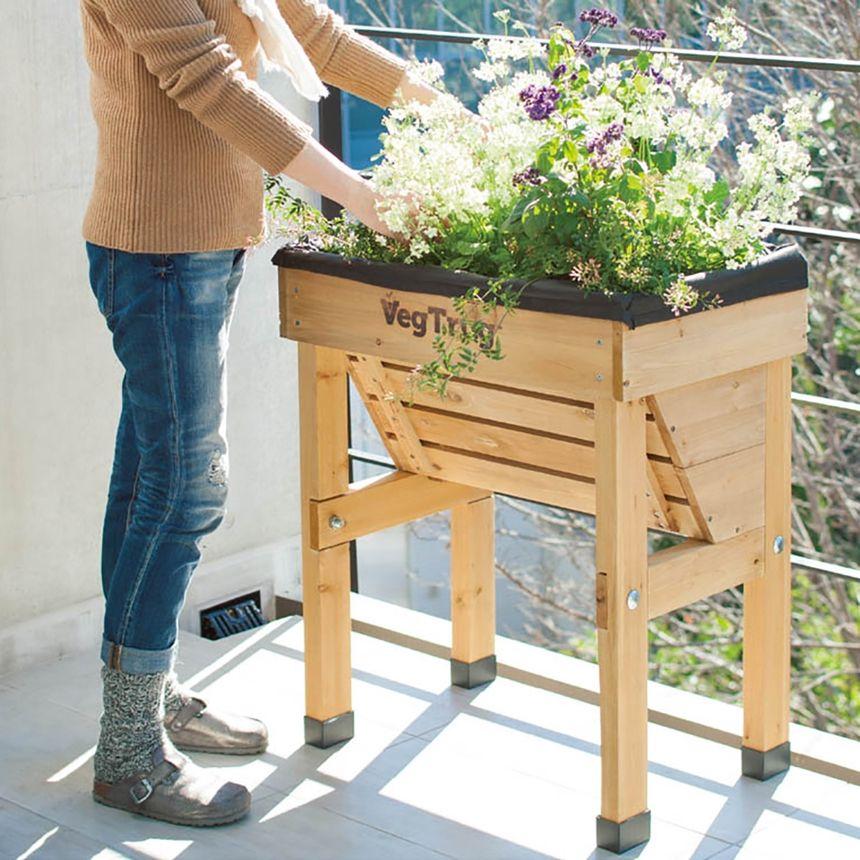 家庭菜園プランター Vegtrug ベジトラグ 家庭菜園 プランター