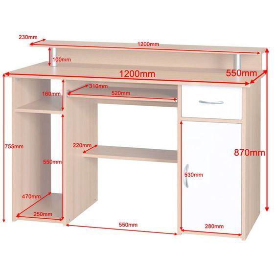 Maxam Computer Desk Computer Desk Design Computer Table Design Office Furniture Design
