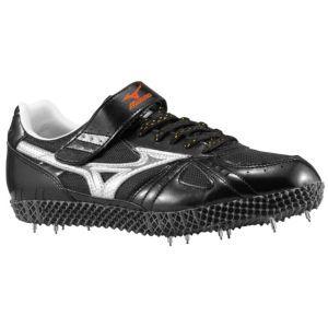 9e5593f408b3 Mizuno High Jump - Men's - Track & Field - Shoes - Anthracite/Red Orange