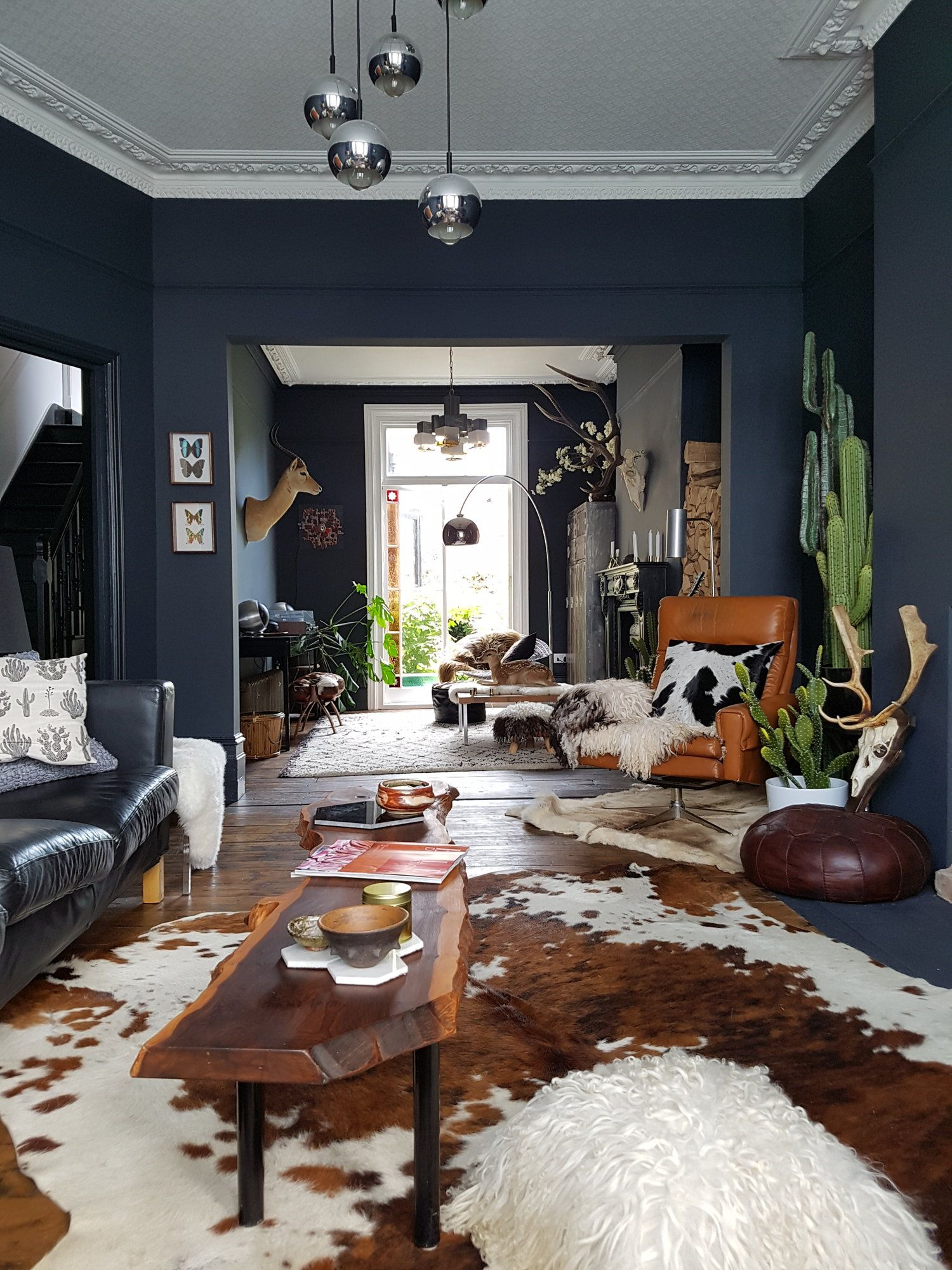Pin On Dark Moody Interiors #western #themed #living #room