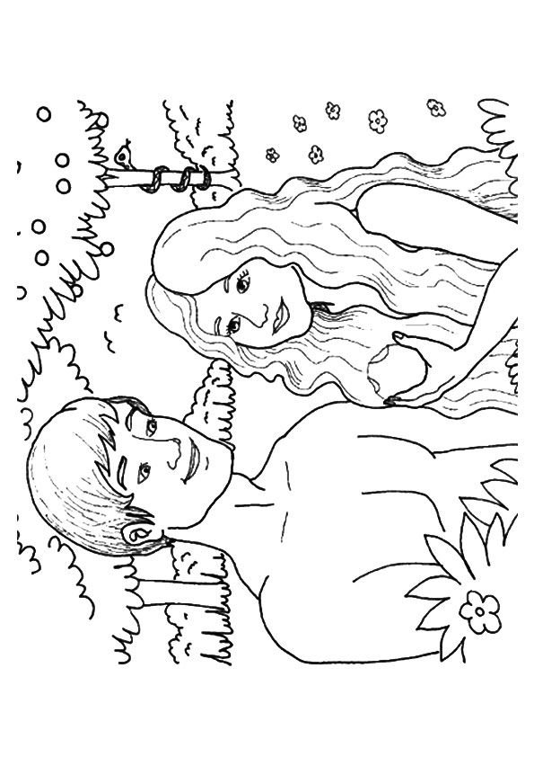 25 Best Adam And Eve Coloring Pages For Your Toddler (With