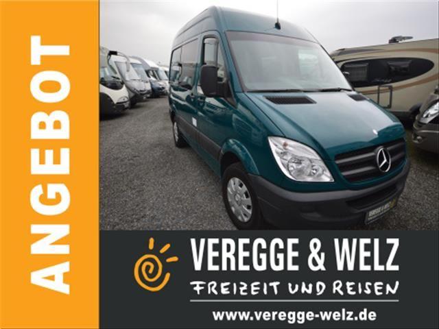 mercedes benz sprinter 213 cdi monteurfahrzeug wohnwagen mobile kastenwagen in bissendorf. Black Bedroom Furniture Sets. Home Design Ideas